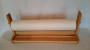 Ikea Mala Wooden Art Draw Painting Tabletop Paper Roll Holder