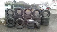pneu usager ete ou neuf 13 pouce a 20 pouce pose et balancer
