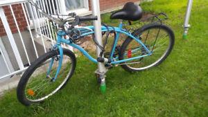 Vélo Bleu style ancien