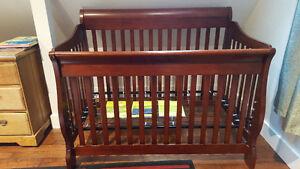 Solid Wood Crib Edmonton Edmonton Area image 3