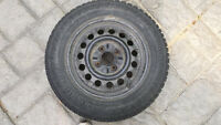 FS:195/65/15 Continental Winter Tires and Rims Set of 4