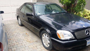 1994 Mercedes-Benz CLS-Class SEC Coupe (2 door) V12 Rare