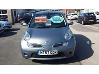 2007 NISSAN MICRA 1.2 Acenta + 5 Door From GBP3,695 + Retail Package