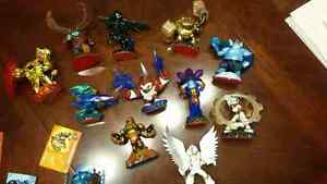 2 skylanders games plus over 40 characters and 14 traps