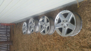Dodge dakota ram1500 durango 5 bolt rims