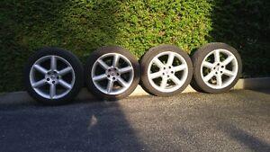 4 Roues et pneus, Nissan 350Z 2005,