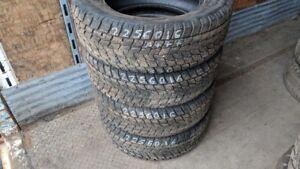 Set of 4 Toyo Observe G02 Plus 225/60R16 WINTER tires (95% tread