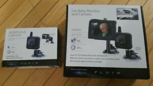 Baby monitor for car.
