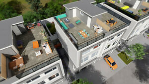Duplex Townhomes- Rooftop Terraces with Lake view