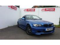 2004 04 BMW 318Ci 2.0 M-SPORT INDIVIDUAL IN ESTORIL BLUE.PRIVATE PLATE,HARDTOP.