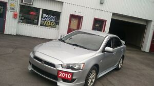 2010 Mitsubishi Lancer 142,000km 5 Speed Certified!