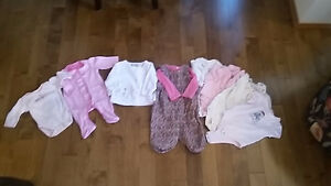 Assorted baby clothes