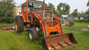 1135 and other Massey tractors and misc equipment