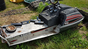 Various Vintage Snowmobiles for PARTS