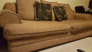 Large clean sofa couch