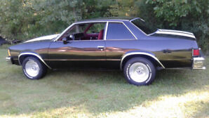1981 Chevrolet Malibu Coupe (2 door)
