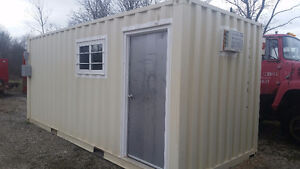 2 year old 8x20 office container