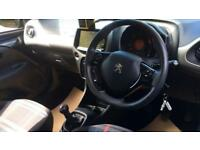 2015 Peugeot 108 1.0 Active with TFT Colour Scr Manual Petrol Hatchback