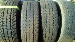 sets of R18 all season truck and SUV tires
