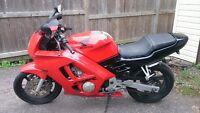 Used  Honda CBR , red