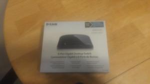 8 port gigabit desktop switch