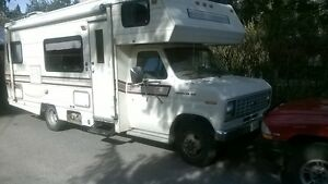 GOOD CONDITION F350 FORD CUSTOM ELITE MOTORHOME