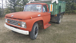 REDUCED! For sale.  1964 Mercury Truck with hoist.