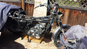 1978 CB750 Project with Reg