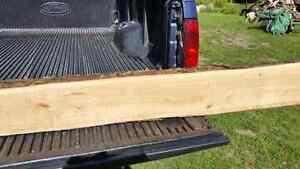 Black Cherry lumber and White Cedar