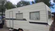 Caravan solid clean modern looking inside it want get any like it Adelaide CBD Adelaide City Preview