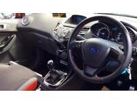 2016 Ford Fiesta 1.0 EcoBoost 140 Zetec S Black Manual Petrol Hatchback