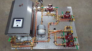 IN FLOOR RADIANT HYDRONIC HEATING SYSTEM & INSULATION