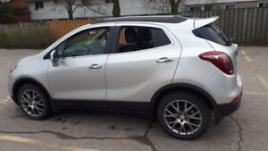 2018 Silver SUV Buick Encore with only 9602 KM.All Excellent.