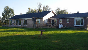 OTTAWA:  5 Bed / 4 Bath Home for sale on 21 acres. Indoor Pool
