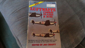 Luftwaffe Combat Planes & Aces WWII book