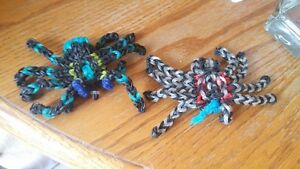 Various rainbow loom charms