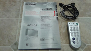 SHARP LCD 20 inch TV with REMOTE Control Windsor Region Ontario image 5