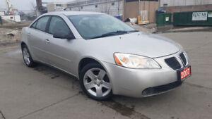 2007 Pontiac G6, 4 Door, Automatic, Low km, 3/Ywarranty availab