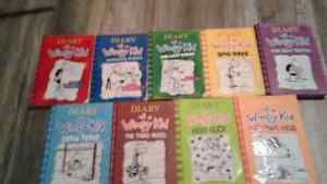 Diary Of A Wimpy Kid #1-9