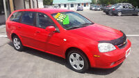 2005 Chevrolet Optra Wagon *** Low Km CERTIFIED $3995 ***