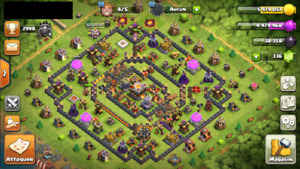 Clash of clans lvl 144 TH11