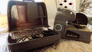 Antique Record Player and Film Projector, song book & record set