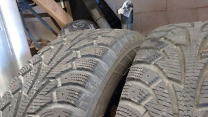 Hankook iPike tires, good tread