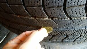 Michelin Latitude X Ice 235/70 R16 (4 tires and wheels)