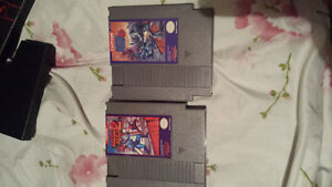 Nintendo nes complete with 2 controllers and 6 games
