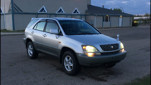Toyota Harrier 89,000 kms