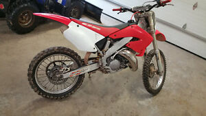 2001 Honda CR125 price drop