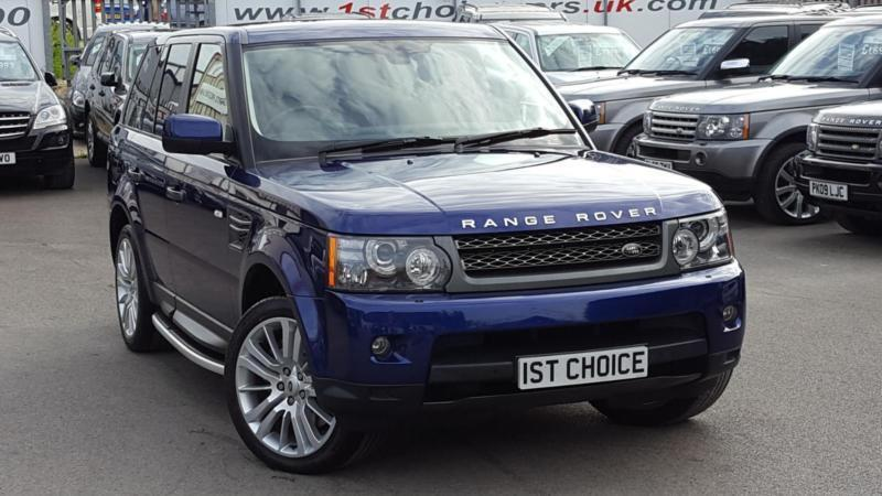 2011 land rover range rover sport tdv6 hse big spec stunning bali blue 1 ow in faringdon. Black Bedroom Furniture Sets. Home Design Ideas