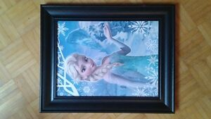 Frozen Elsa picture beautifully framed