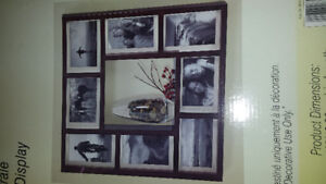 New! Wall Essentials. Center shelve. Picture frame